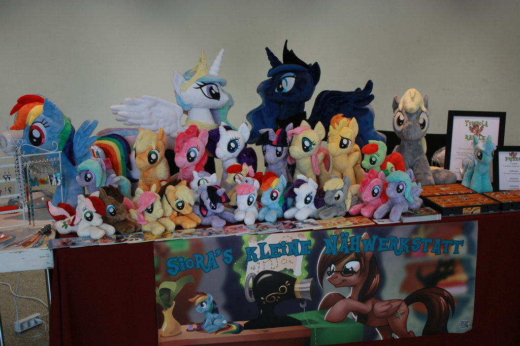 my table at galacon 2014 by siora86-d89v