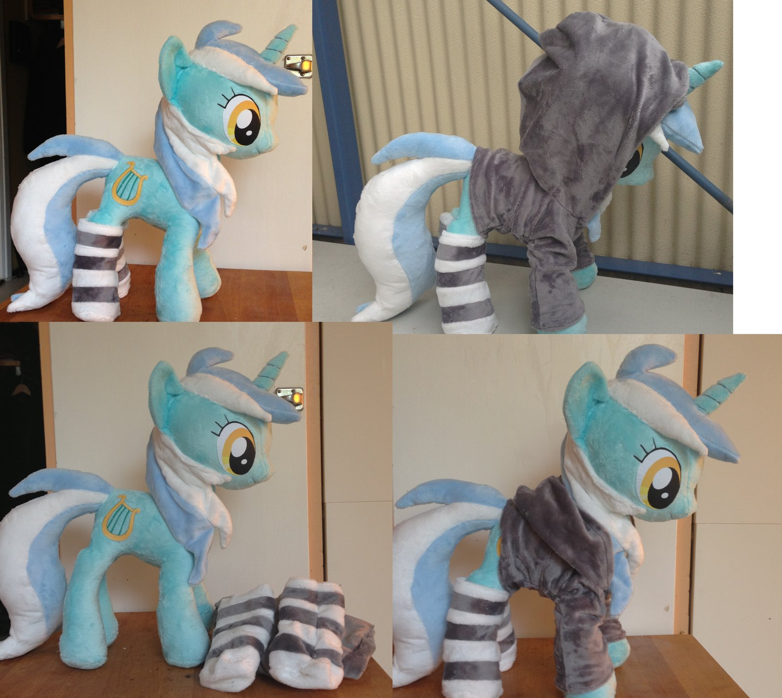 lyra with socks and hoodie by epicrainbo