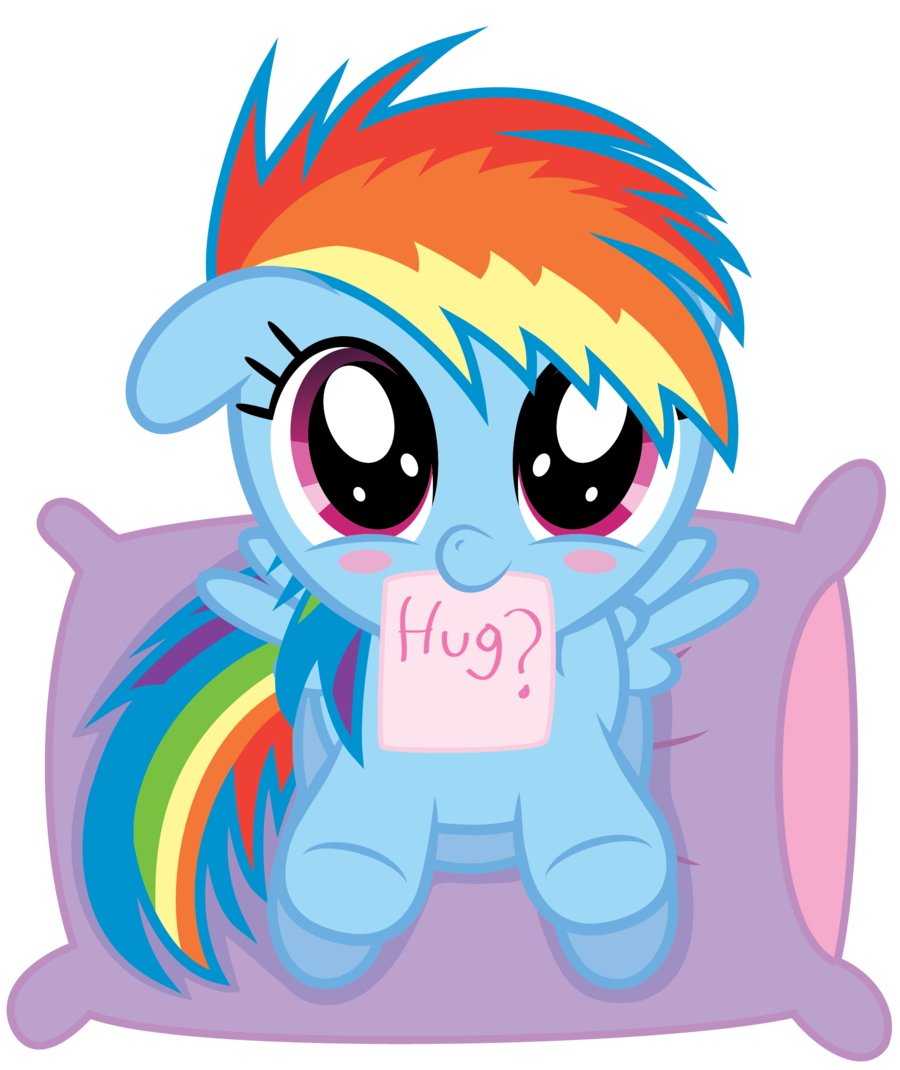 dashie hug time  by chubble munch-d58mge