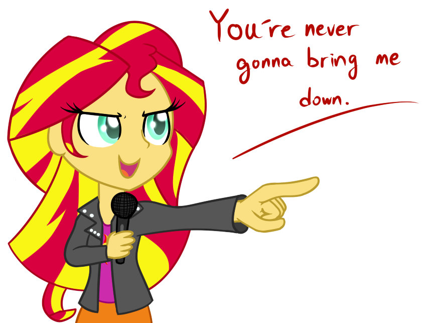 sunset shimmer by hankofficer-d84ilj3