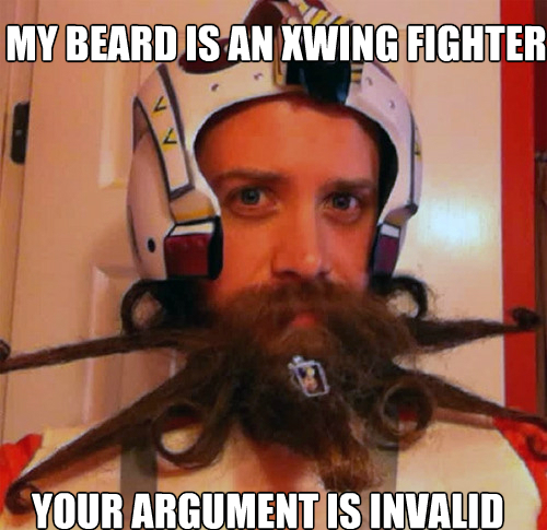 Xwing-Fighter-Beard