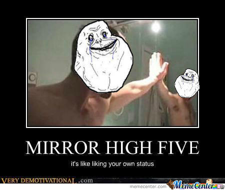 forever-alone-high-five o 1023500