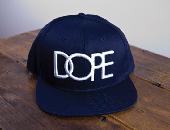 DOPE-COUTURE-Dope-Navy-Snapback-Cap 1