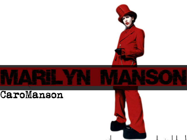 marilyn manson by caromanson-d7hhued