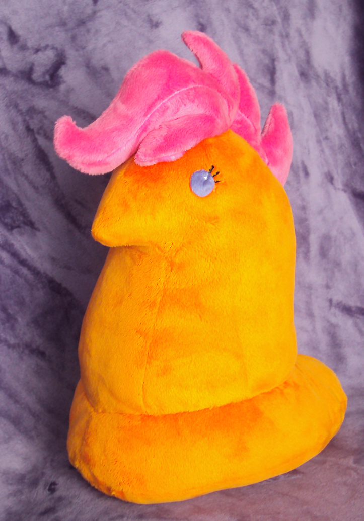 scootapeep plushie by buttercupbabyppg-d