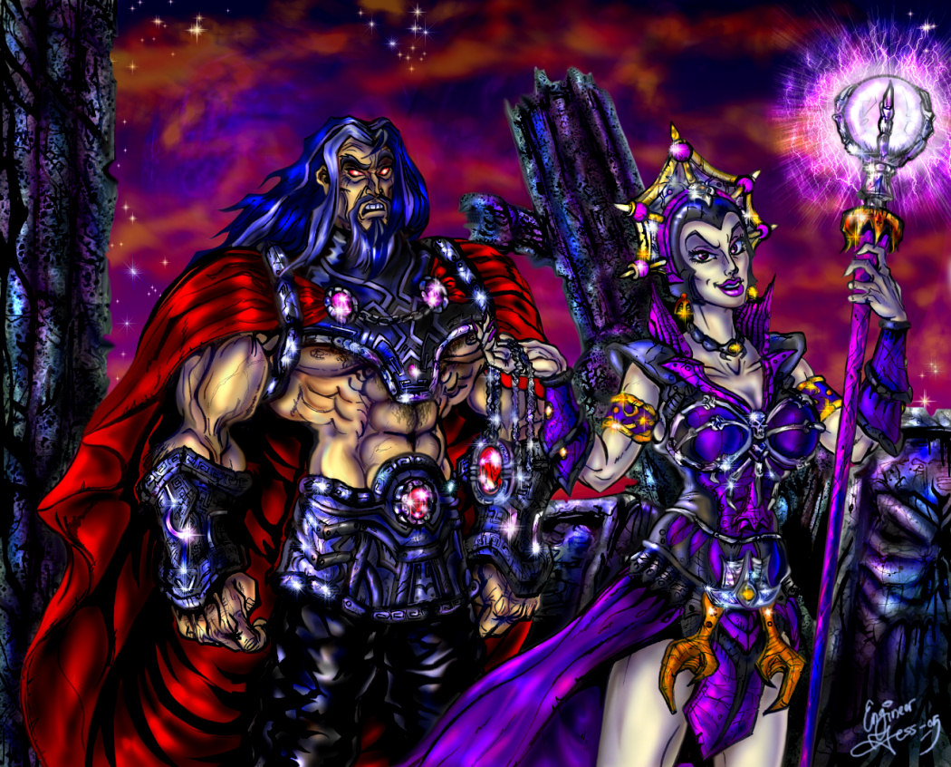 Evil Lyn  s Plot Colored by zorm