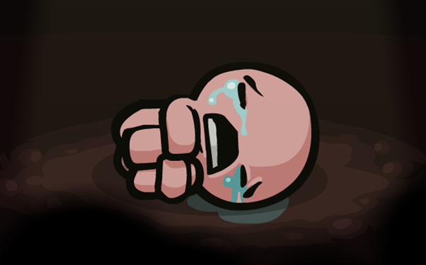The Binding of Isaac-crying