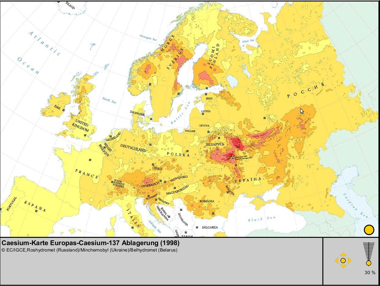 Tschernobyl Karte Belastung Deutschland.Wo Liegt Tschernobyl Karte Creactie