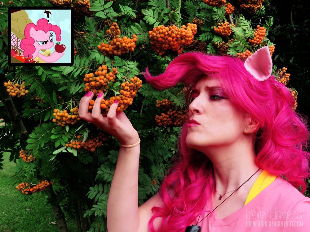 pinkie pie   mlp fim   mmmm   juicy  by