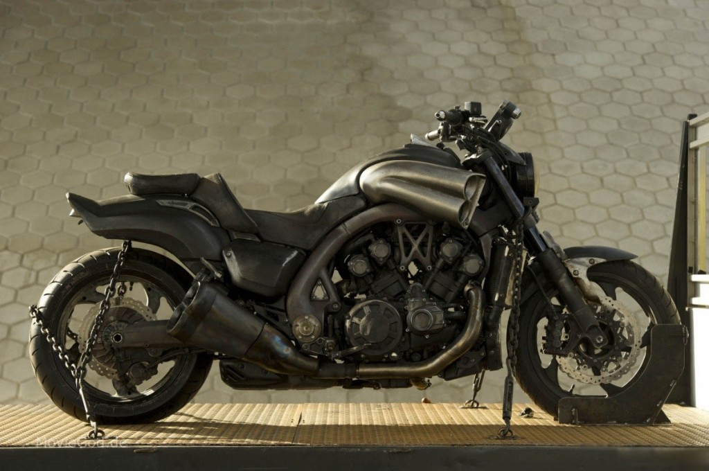 Ghost Rider 2 Pictures Ghost Rider 2 Bike Yamaha Vmax