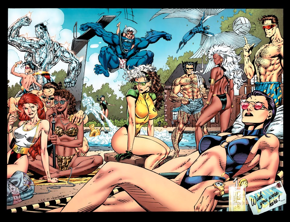 x-men-on-vacation