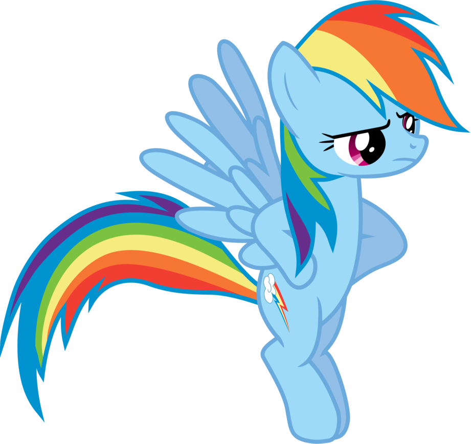 angry rainbow dash by 90sigma-d4upsrh