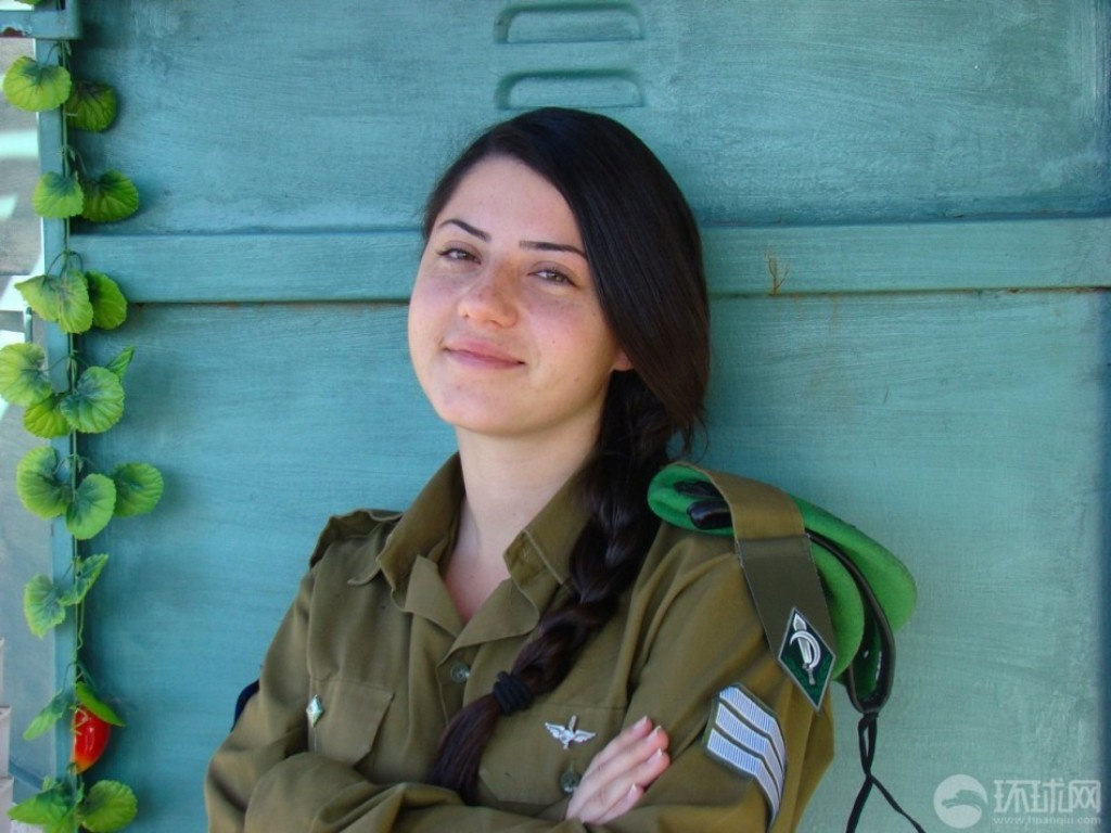 Israeli2Bfemale2Bsoldiers2Bshopping2Band
