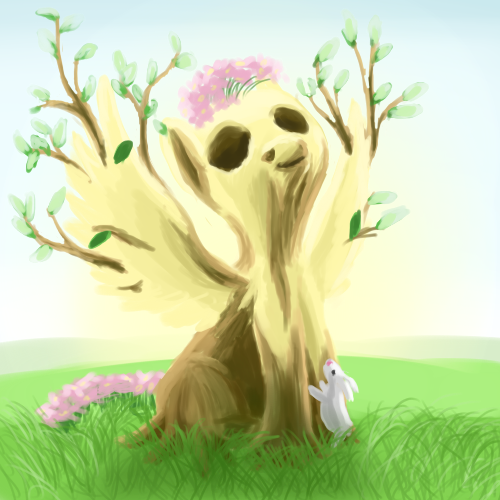 mlp fluttershy wants to be a tree by lem