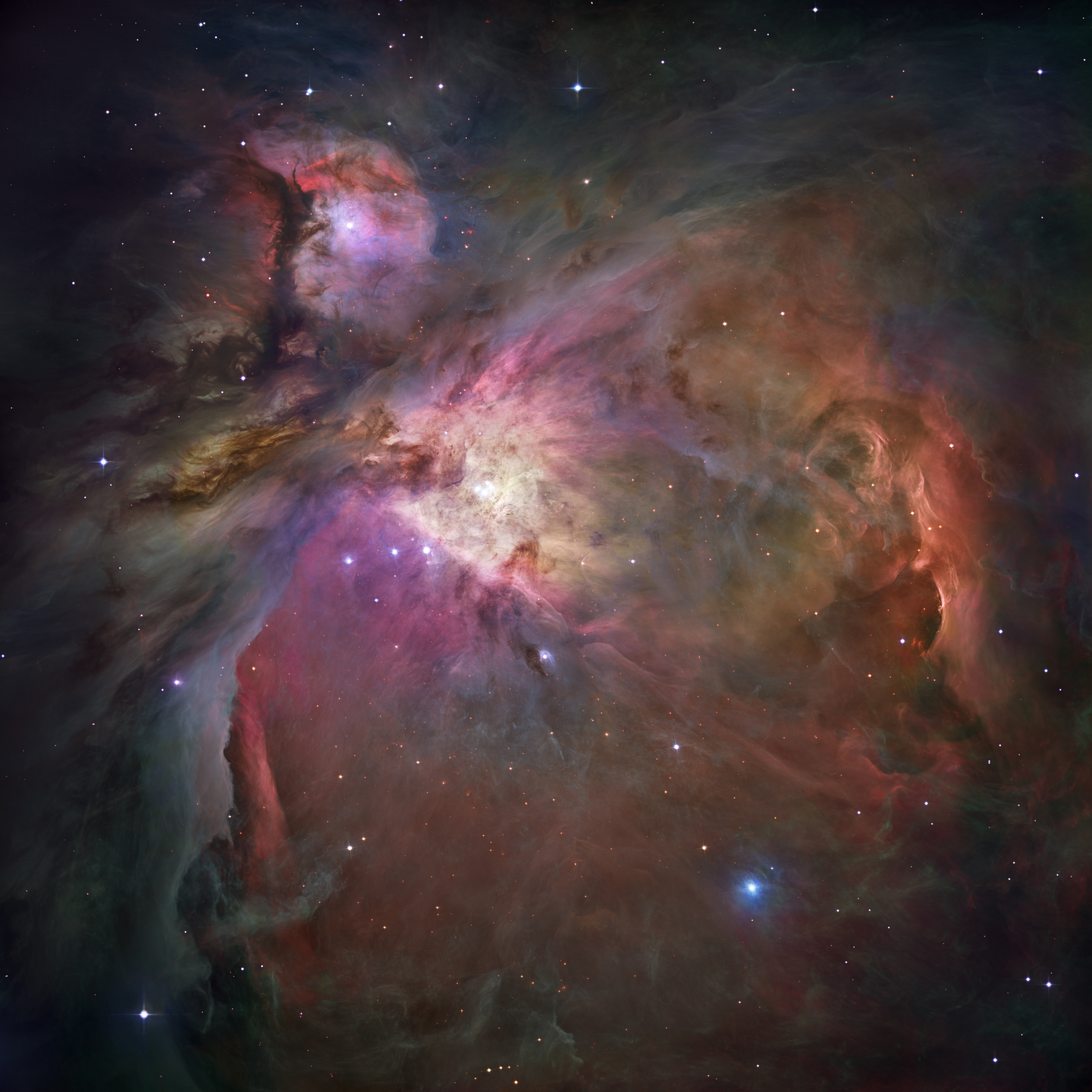 Orion Nebula - Hubble 2006 mosaic