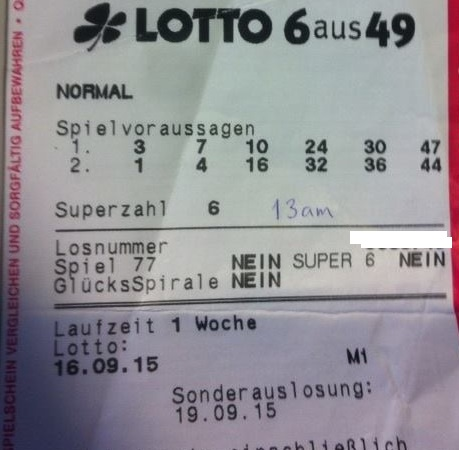wahrscheinlichkeit 4 richtige lotto