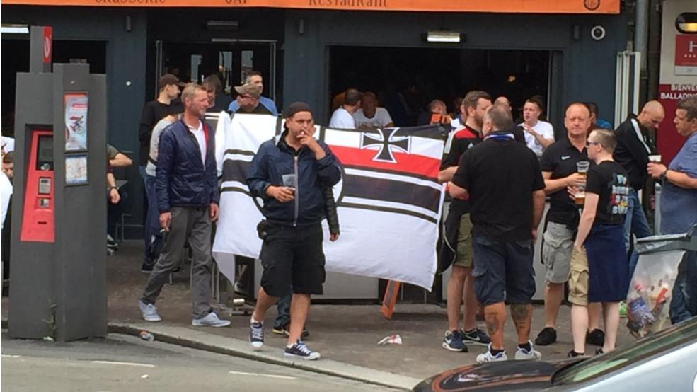 Deutsche Hooligans In Frankreich