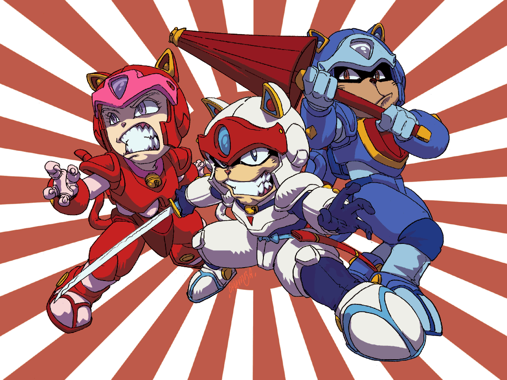 Samurai Pizza Cats by lastscionz