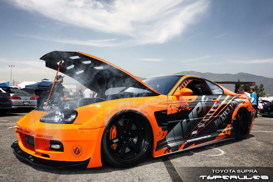 has just arrived  toyota supra by typeru