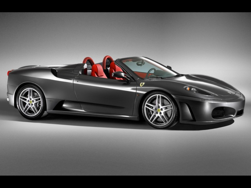 ferrari F430 Spider black 800