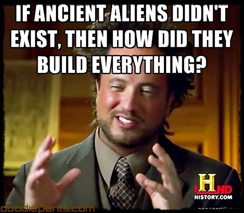 Ancient aliens guy hair dude meme
