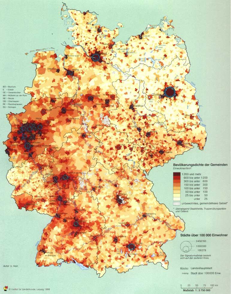 Findet Ihr Deutschland Mit Einer Flache Von 357 121 Km Gut