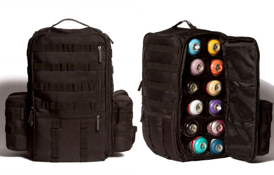 graffiti utility backpack black ops vers