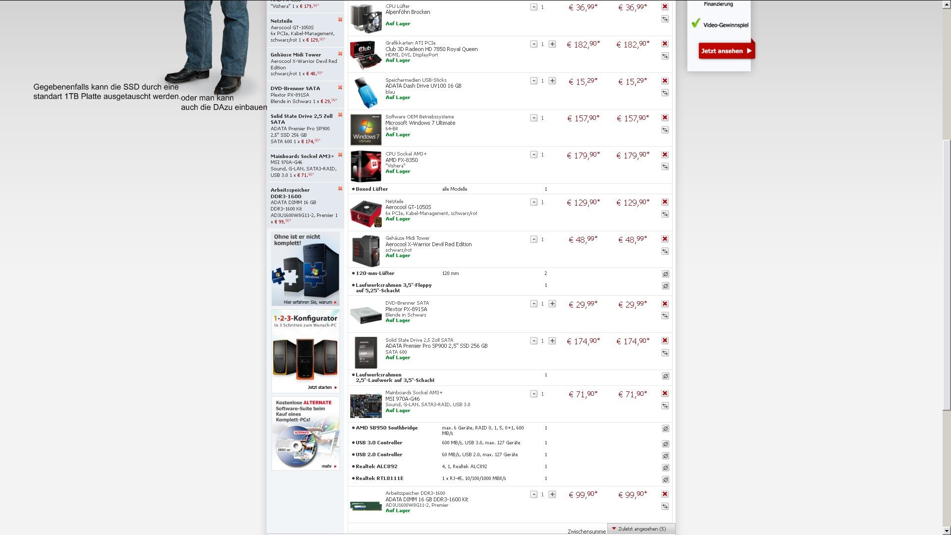 computer aufr sten oder gleich einen neuen kaufen seite 6 allmystery. Black Bedroom Furniture Sets. Home Design Ideas