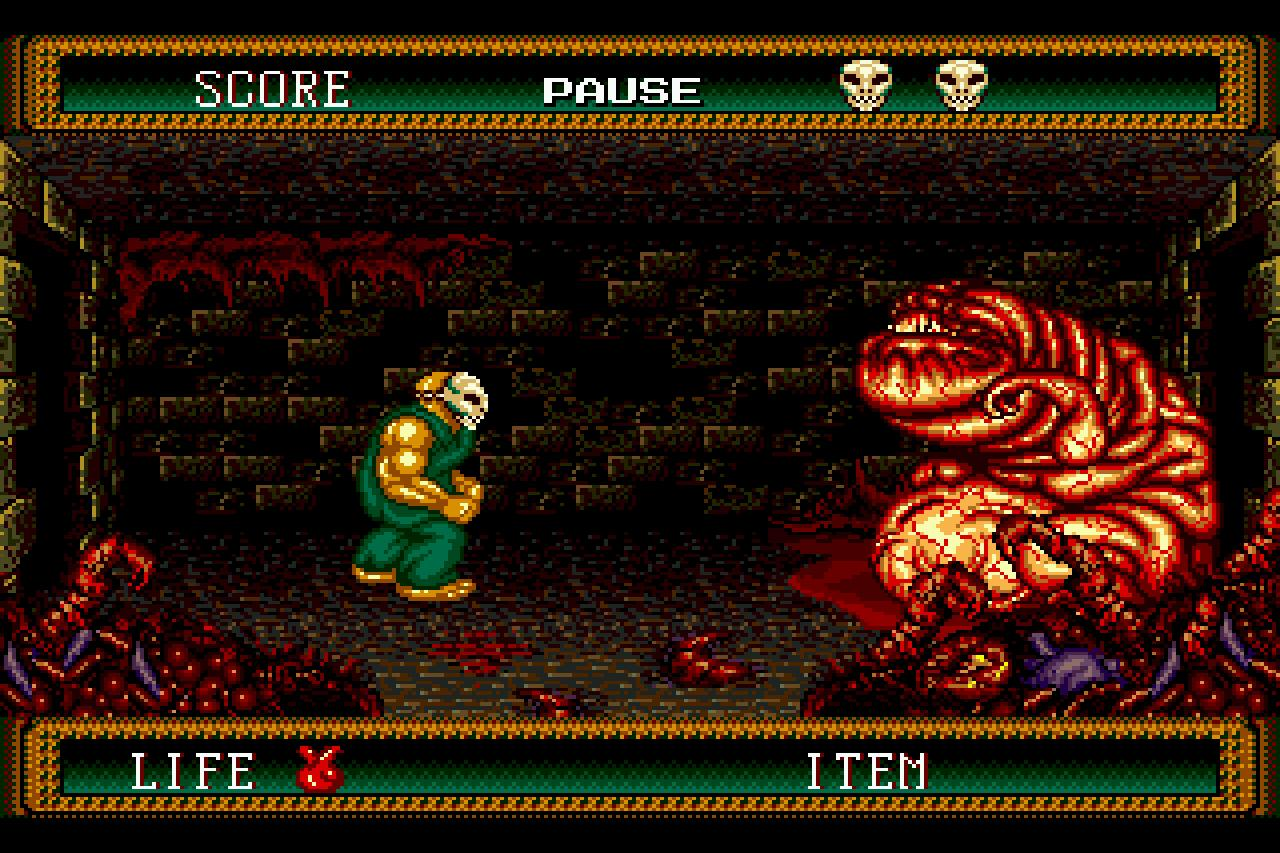 Splatterhouse 2 Boss 1