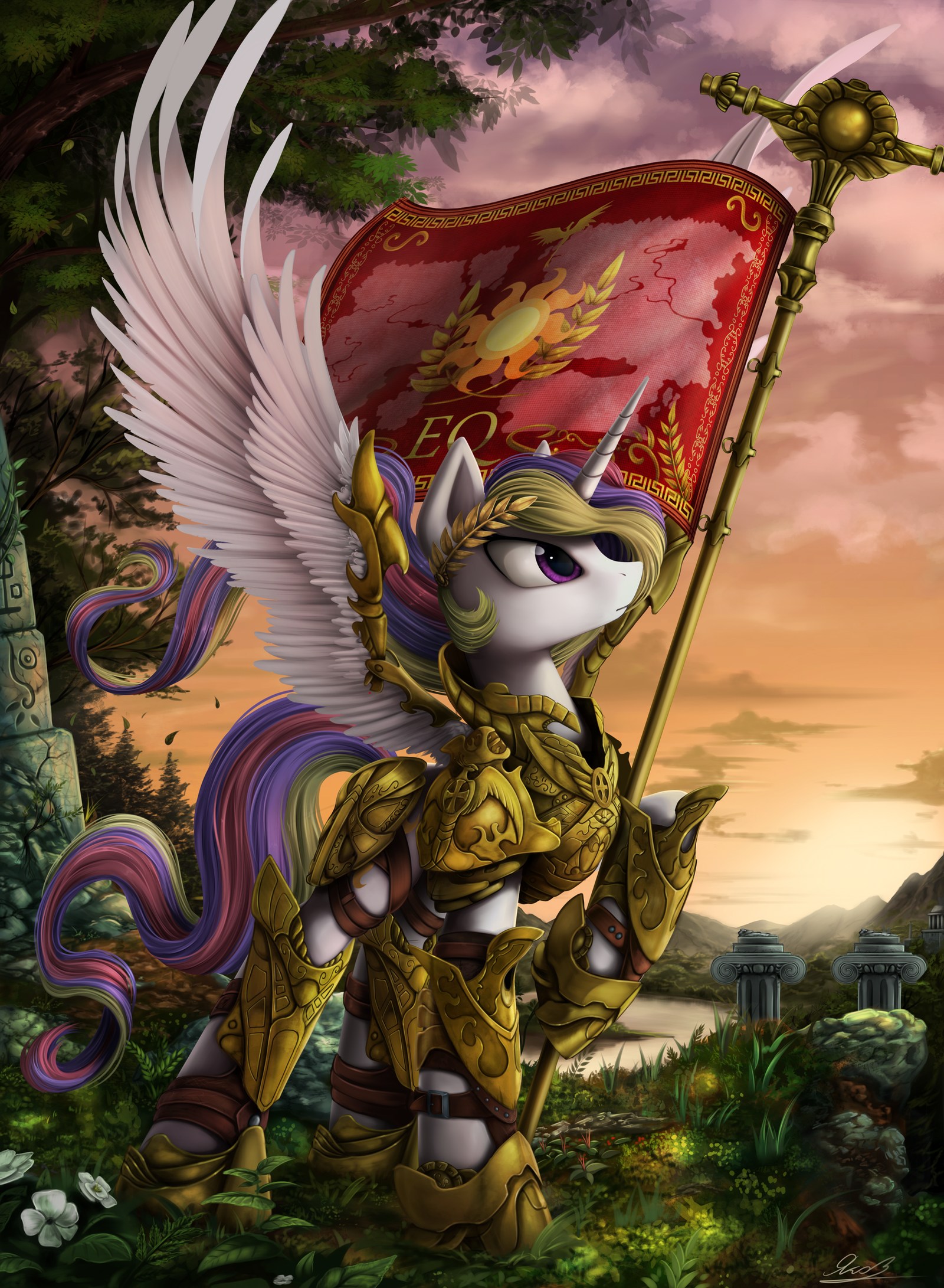 empress of all of equestria by yakovlev