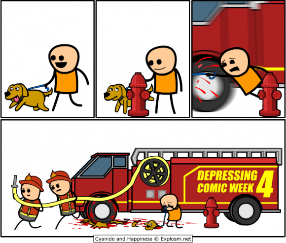 t4QZMU1 DCW4 firetruck Cyanide and Happiness Del