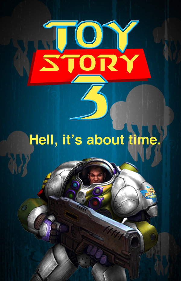 Toy Story 3 Starcraft version by reloadf