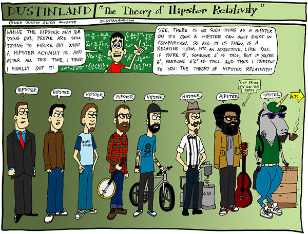 hipster-relativity