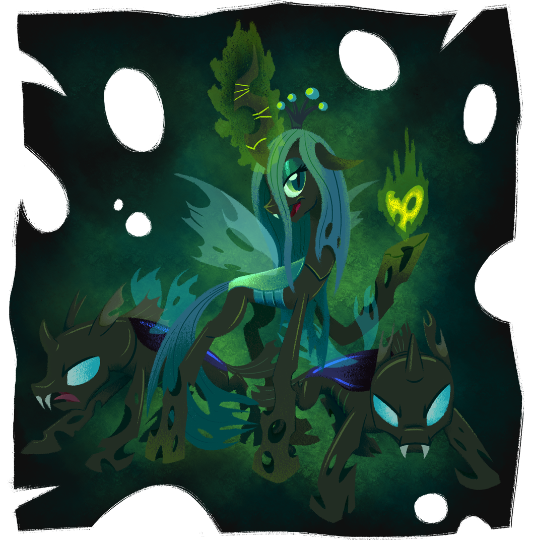 chrysalis  queen of the changelings by w
