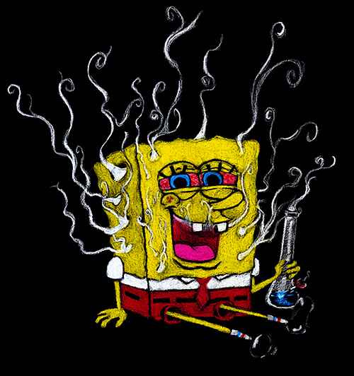 spongebob-squarepants-stoned