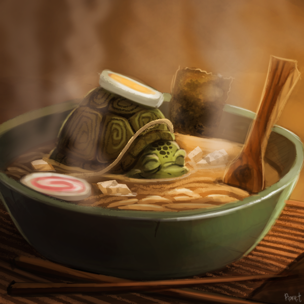 day 160  turtle soup  30 minutes  by cry
