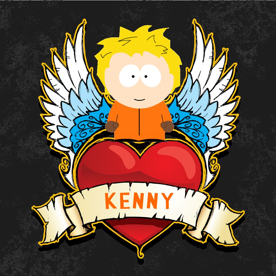 q6S6PS Kenny Unhooded south park