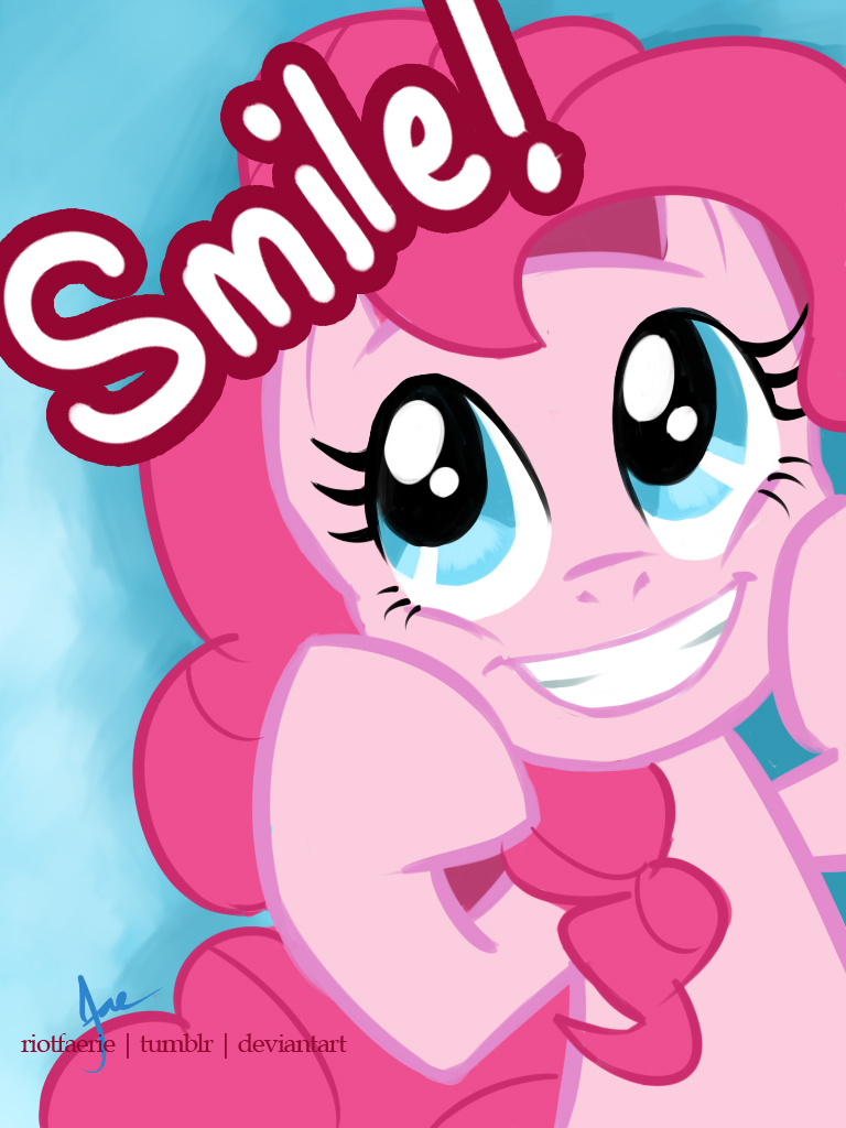 pinkie pie   smile by riotfaerie-d5vldj9