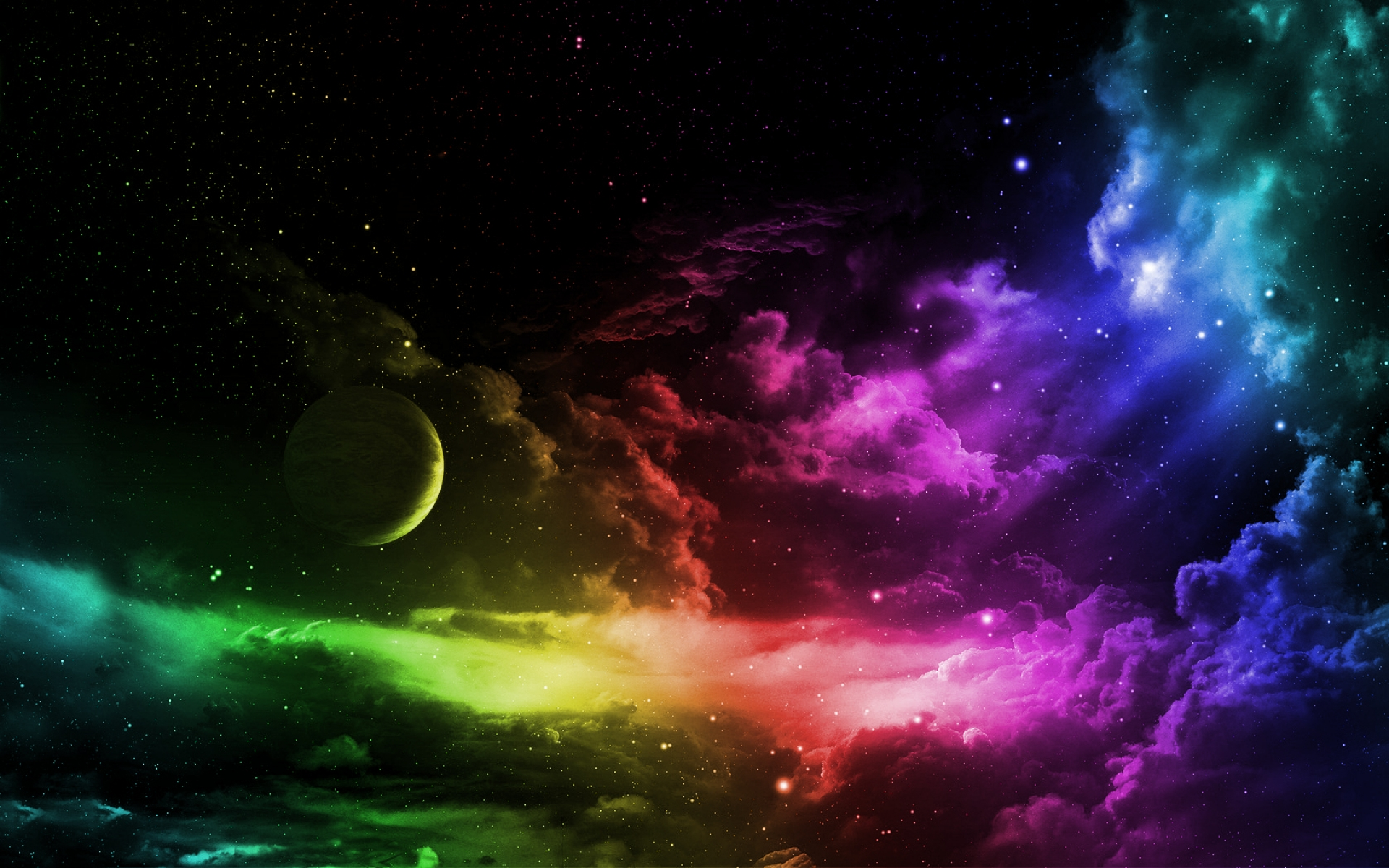 9384-space-in-rainbow-colors-sky-wallpap