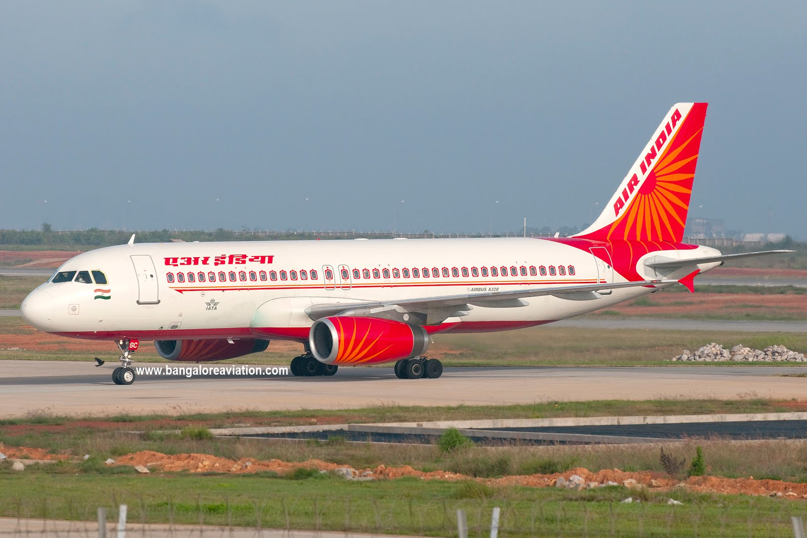 Air India Airbus A320-231 VT-ESC AI Live