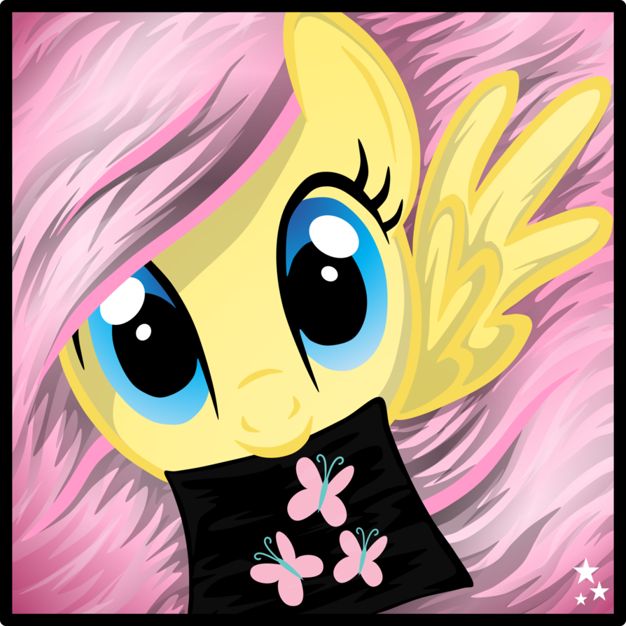 emerald  s icon   fluttershy    by pinki