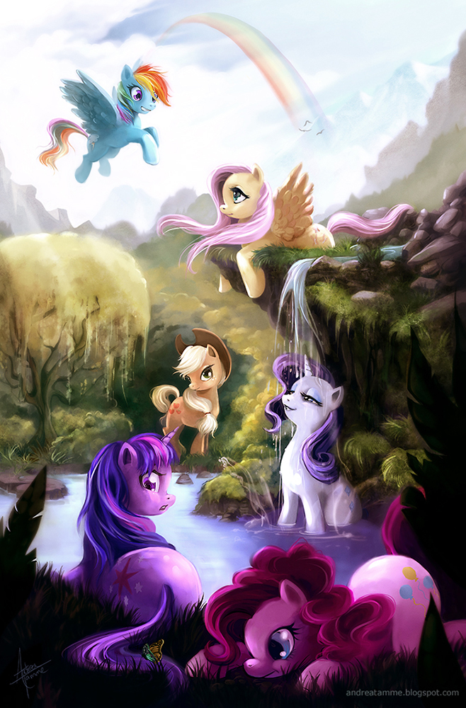my little pony  friendship is magic by a