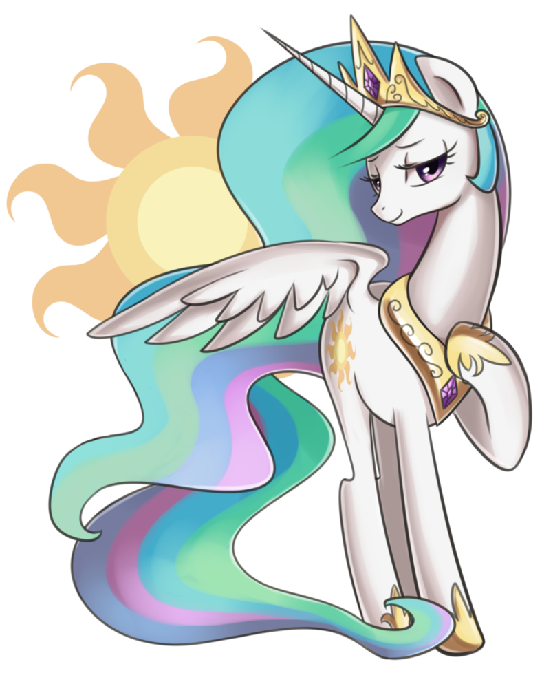 princess celestia by mi0724go-d5rdf87