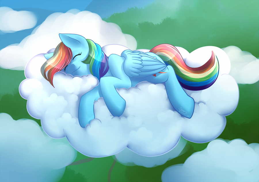 sleepy dashie by sugaryviolet-d8is5vi