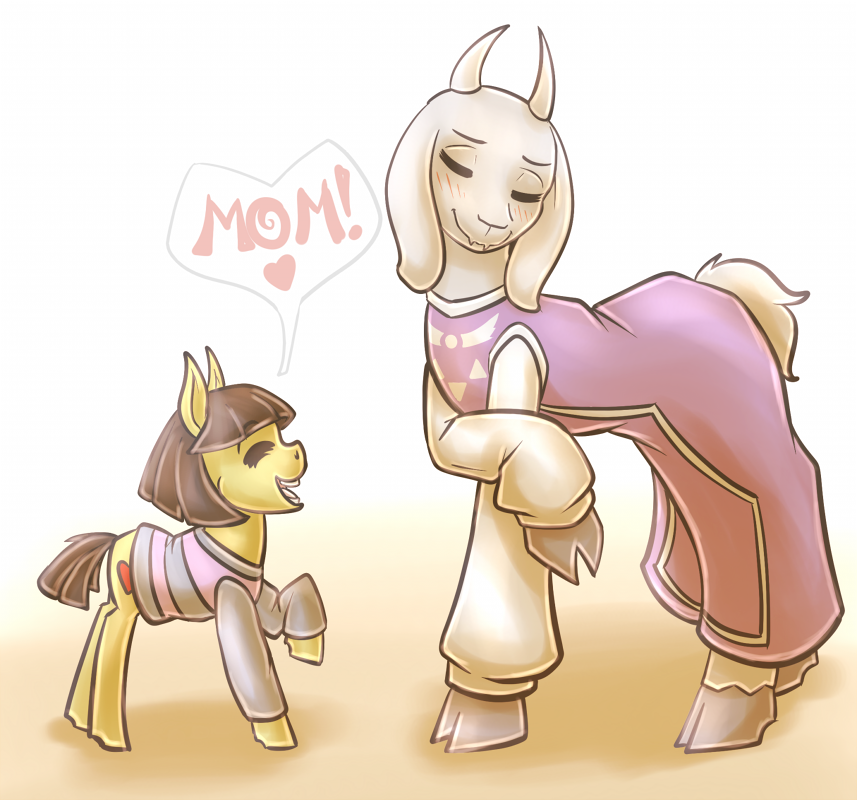 filly frisk  goat mom by countaile-d9dv3