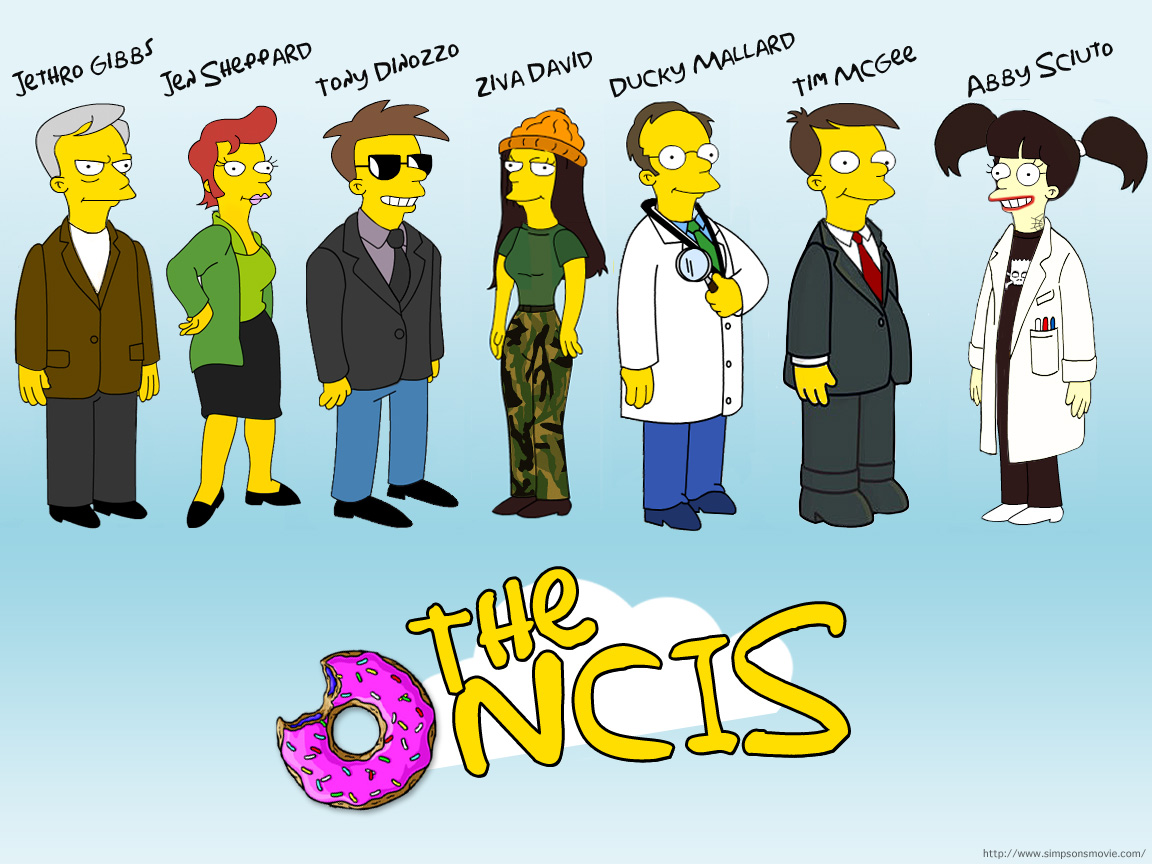 simpsons ncis wallpaper by melanie11211