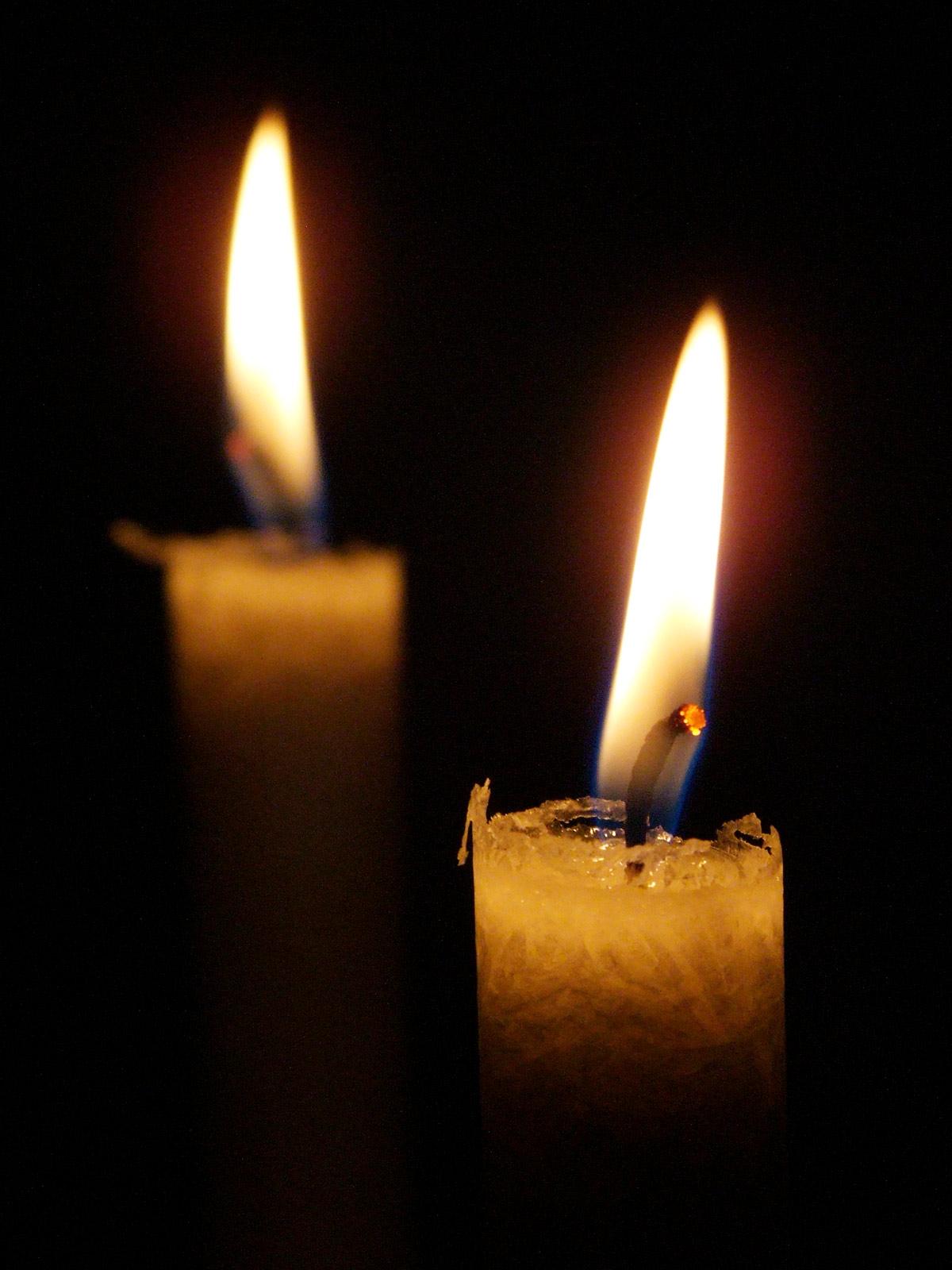 2. Advent Kerzen