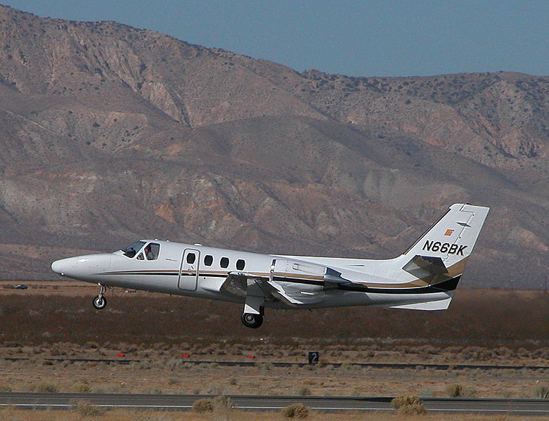 781px Cessna citation ISP Mojave 070126.