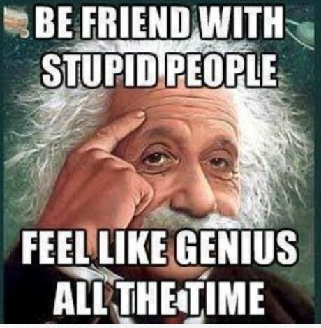 Be-friend-with-stupid-people