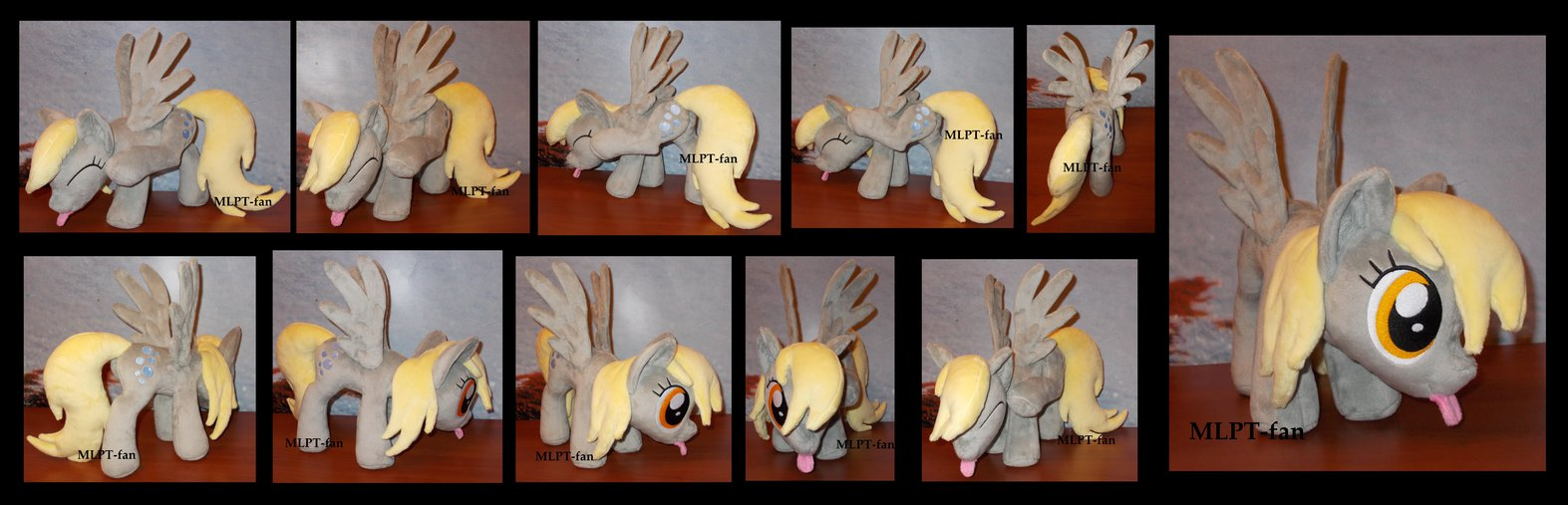 for sale ooak scratching derpy hooves by